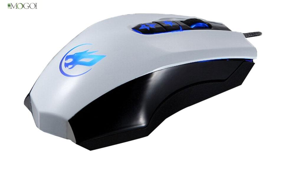 Mogoi 7D Wired USB LED Optical Ergonomic Gaming Mouse for Laptops PC And for Mac Computers(China (Mainland))
