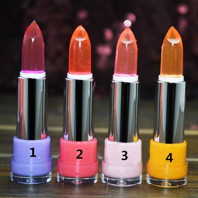 1Pc Waterproof Long Lasting Jelly Like Lip Gloss Lubric Lipstick Lip Stick Makeup(China (Mainland))