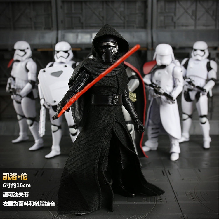 Star Wars 76 inch white pawn storm force soldiers starwars SDCC awakening toys shipping Movable joint Collection model <br><br>Aliexpress