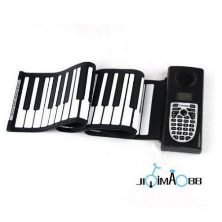 61 Keys Soft Digital Roll-Up Folding 3D Keyboard Piano Electronic Toys Kids Play(China (Mainland))