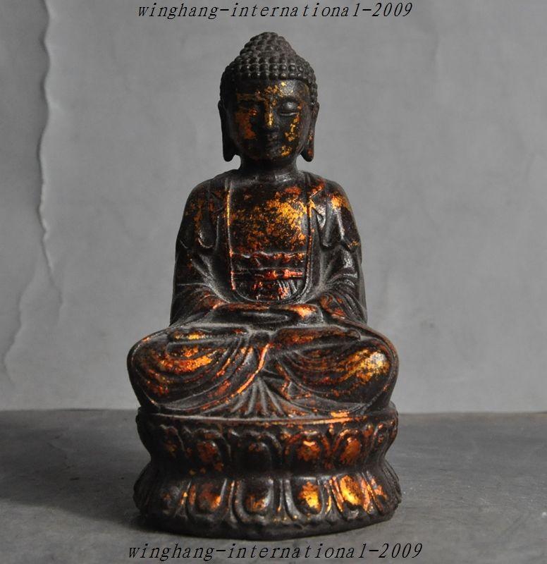 online kaufen gro handel amitabha buddha statue aus china. Black Bedroom Furniture Sets. Home Design Ideas