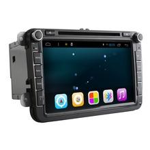 Quad Core 1024*600 Android4.4 16GB ROM 2Din Car DVD GPS Navigation Navigator Radio Player For VW  Skoda Octavia 2(China (Mainland))