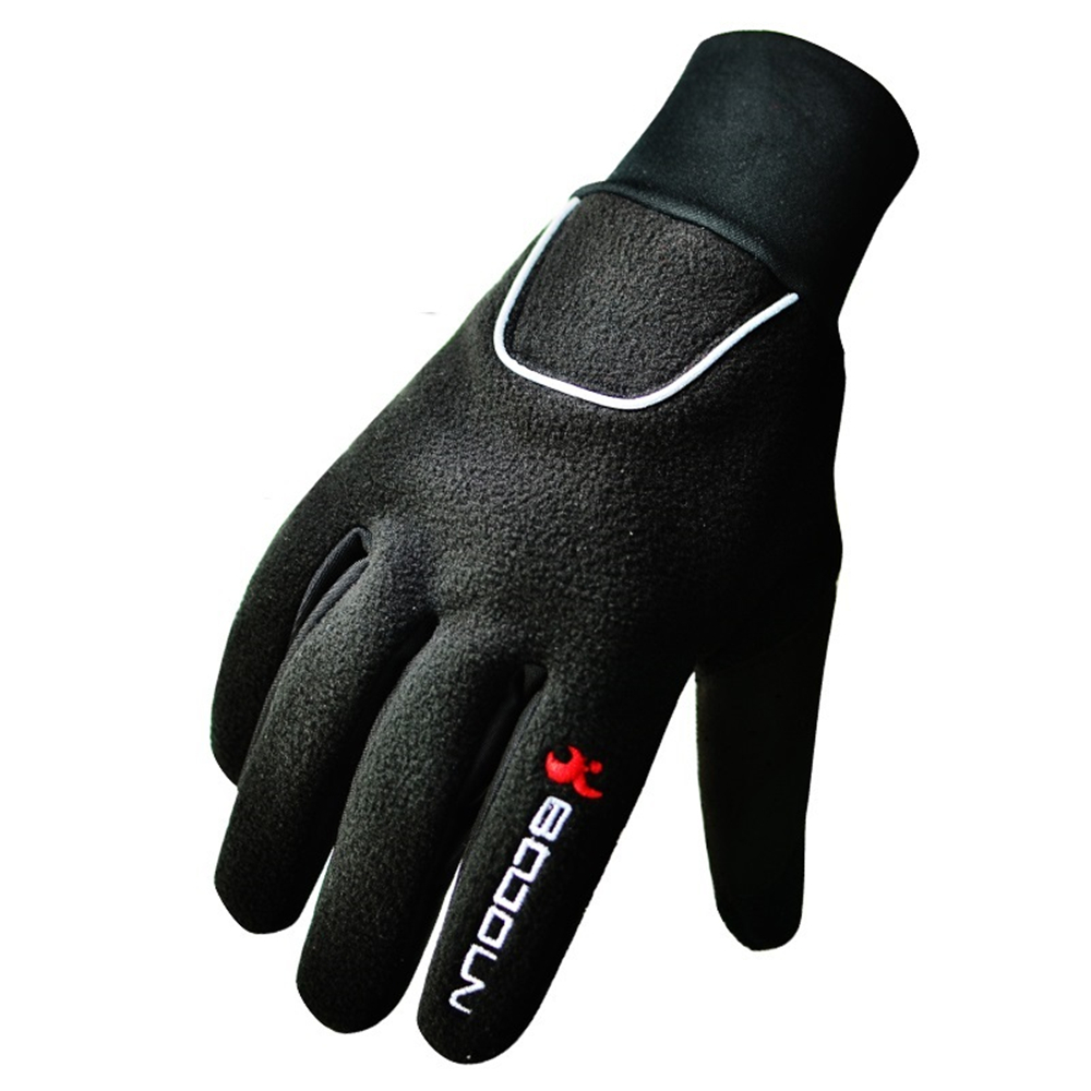 Winter Outdoor Sport gloves Windproof Camping&hiking Bicycle gloves Full finger Cycling gloves Motorcycle Gloves Black(China (Mainland))