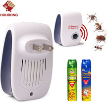 Buy 1 Pc Effective Safe Pest Repeller Ultrasonic Electronic USA Plug Insect Mosquitoes Rats Cockroach Control Pest Reject for $5.39 in AliExpress store