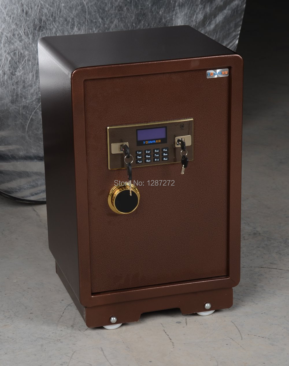 Strongbox,electronic strongbox steel digital safe lock use in the home,office and hotel,safe box height is 150cm(China (Mainland))