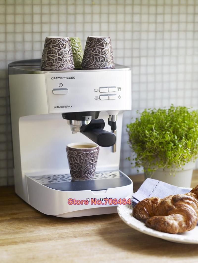 Espresso Makers For Home ~ Electric semi automatic espresso coffee maker bar