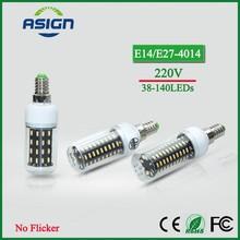 Buy LED Bulb Real Flicker/Strobe Smart Power IC Driver LED Corn Bulb High Lumen 4014 SMD E27 E14 220V Long Life LED Spot Light for $1.49 in AliExpress store