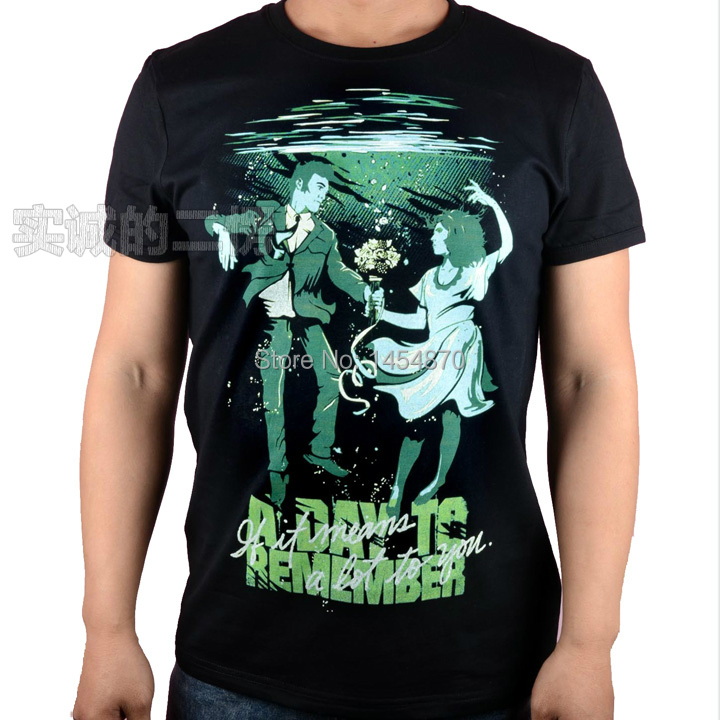 a day to remember Rock Brand camiseta shirt 3D mma fitness heavy Metal Cotton ropa anime illustration streetwear sport(China (Mainland))