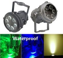 Buy 2XLot High LED PAR Light 6X10W RGBW 4in1 Outdoor Waterproof IP65 Mini PAR36 Stage Lights DJ Disco DMX Strobe Lighting for $225.00 in AliExpress store