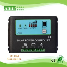 20A 36V New design SMALL SOLAR CONTROLLER LCD display solar power controller(China (Mainland))