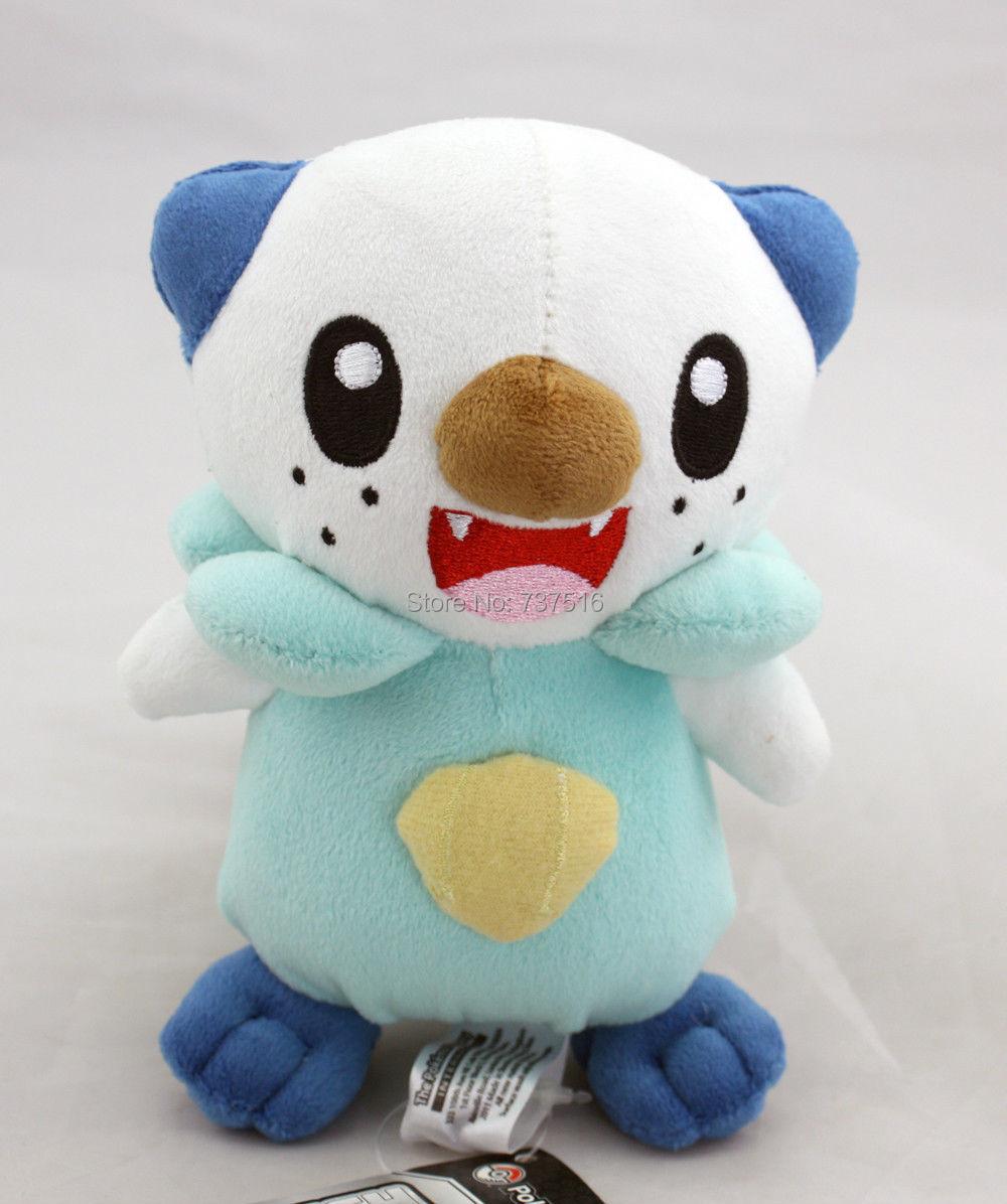 "New Pokemon Oshawott Mijumaru Soft Plush Toys Stuffed Animal 6"" NWT(China (Mainland))"