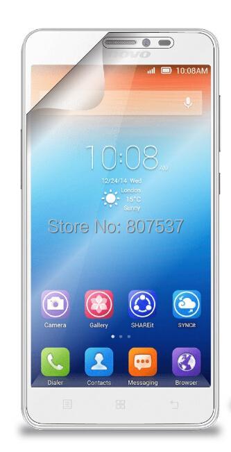 2 пс / много HD прозрачный экран протектор для Lenovo s850 мобильный телефон защитное гвардии плёнка крышка + ткань для очищения