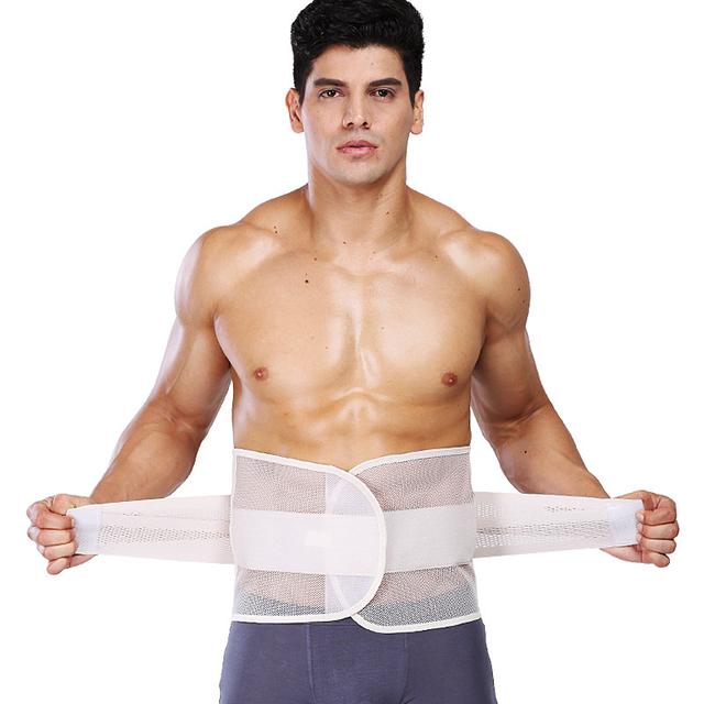 Шейперы защитите талии брекеты дышащий похудения пояс корсет профилировщик тела мужские ...