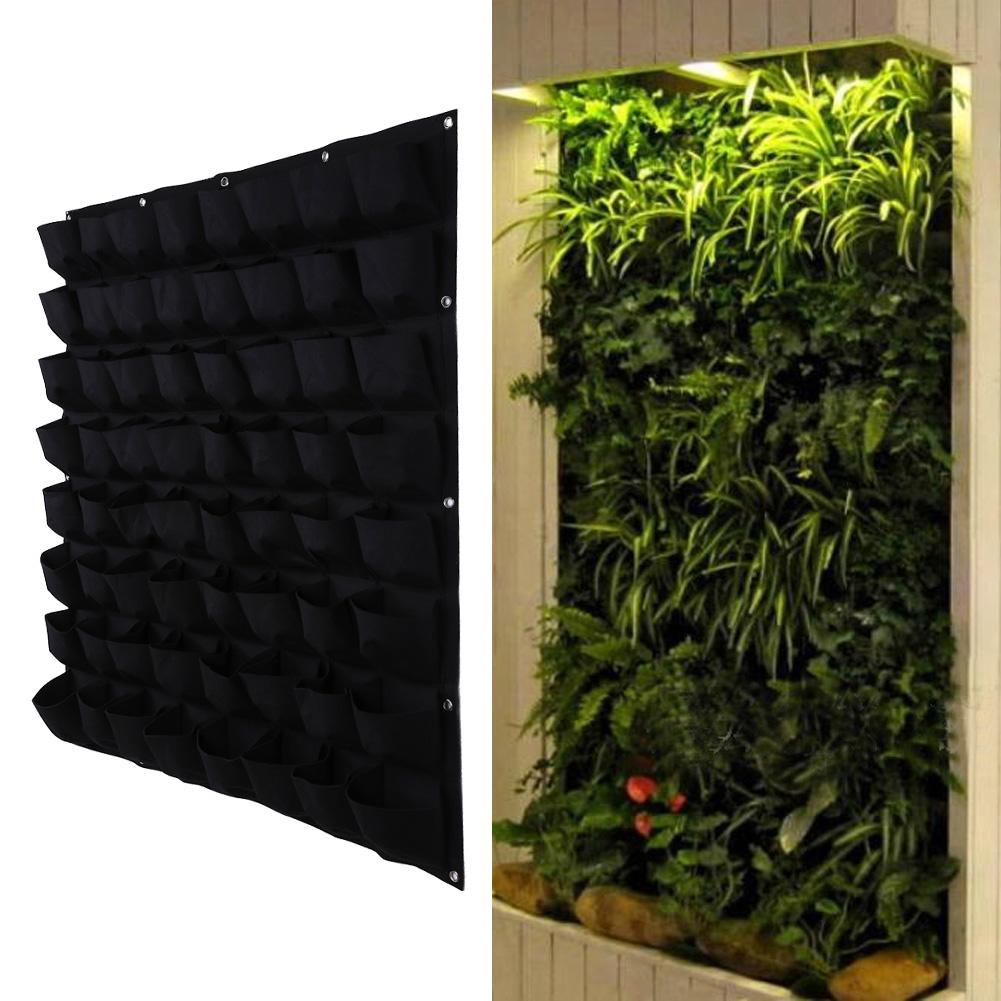 Detail Feedback Questions About 64 Pocket Plant Pot Vertical Garden