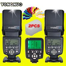 Buy Yongnuo YN560 IV Flash Speedlite YN-560IV Speedlight X 2 + YN560TX LCD Wireless Flash Controller YN-560TX Canon DSLR Cameras Technology Co, Ltd Wholesale Store) for $175.00 in AliExpress store