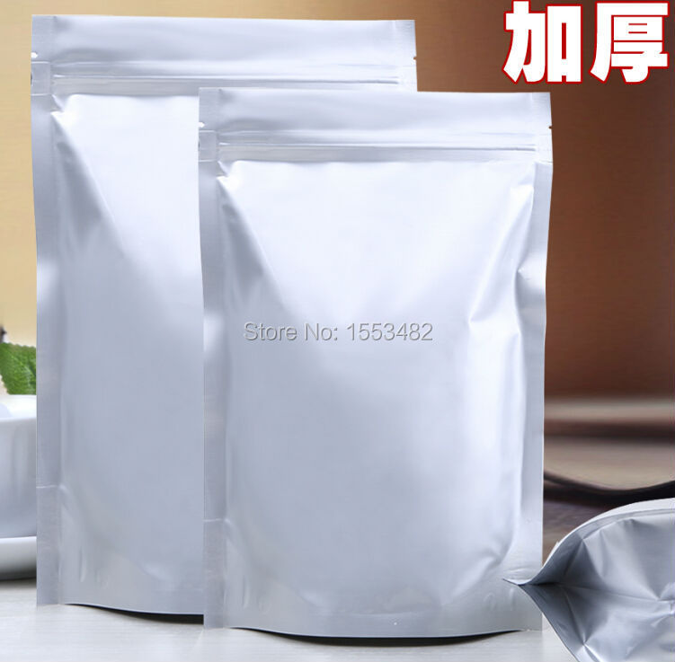 Size 21*31cm self stand snack packaging foil ziplock pouches(China (Mainland))