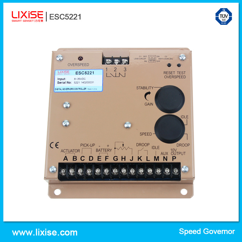 ESD5221 diesel generator automatic speed control unit(China (Mainland))