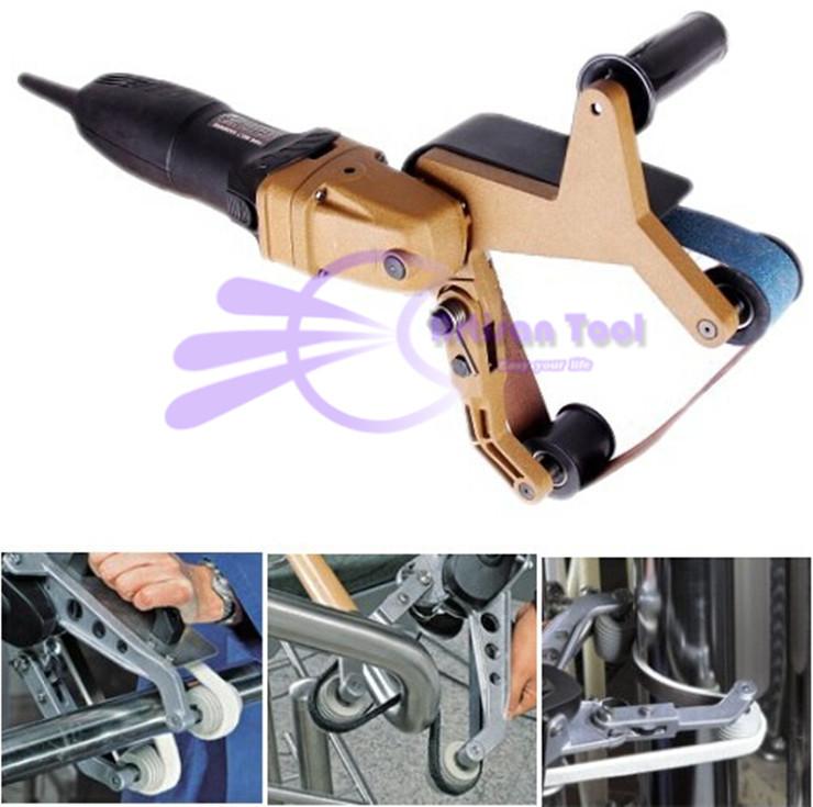 220V Tube Belt Sanders Polisher,Portable Polishing Machine For Stainless Steel Tube Metal Processing Polishing Tool(China (Mainland))