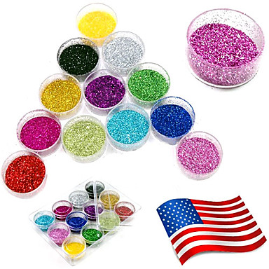 1pcs Colors Acrylic Powder Set For 3D Nail Art 20g (Random Color)