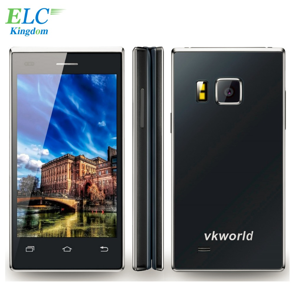 Original 4.0inch VKworld T2 3G WCDMA Flip Cell Phone Android 5.1 MTK6580 Quad Core Dual SIM 1G RAM 8G ROM 13.0MP 2050mAh(China (Mainland))