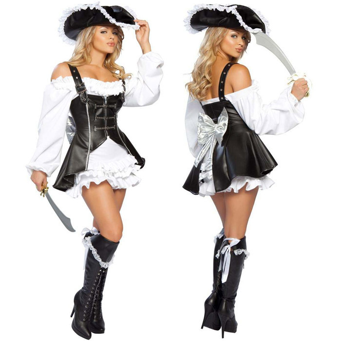 Pink Punk Pirate Costume Punk Pirate Costume Women