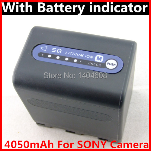 HOT NP-QM91D FM30 FM50 FM51 FM90 FM70 FM55H QM71D Rechargeable Li ion battery pack For SONY camera Digitlal batteries 4050mAh(China (Mainland))