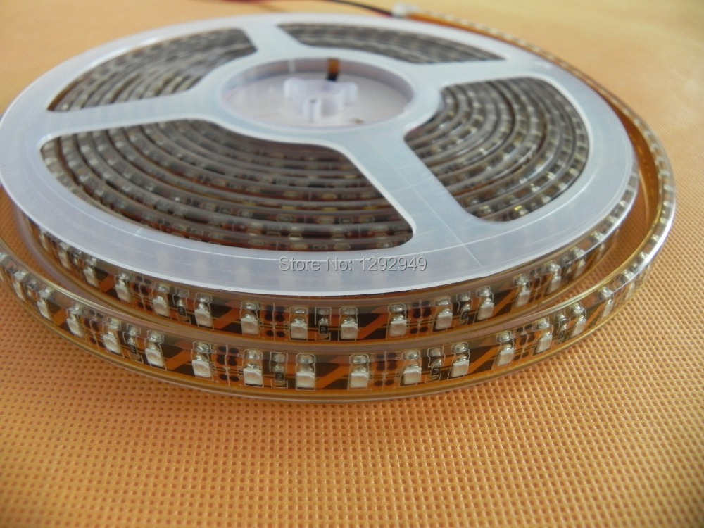 DC24V 5m 600 leds SMD3528LED 120LED/M Strip Light Lamps Cool White /Warm White /Red /Green/Yellow / ip68 Waterproof led strip(China (Mainland))