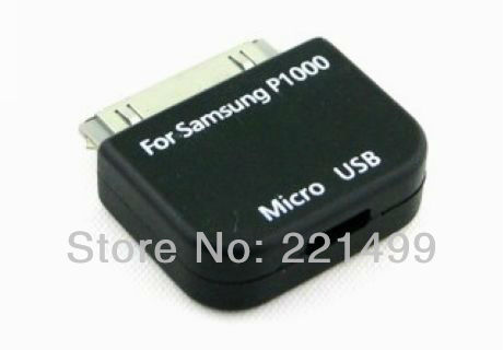 [FREE SHIPPING/EPACKET!] WHOLESALE 50pcs/lot Micro USB Female to 30pin for samsung galaxy tab P6800 7500 7510 7310 adapter