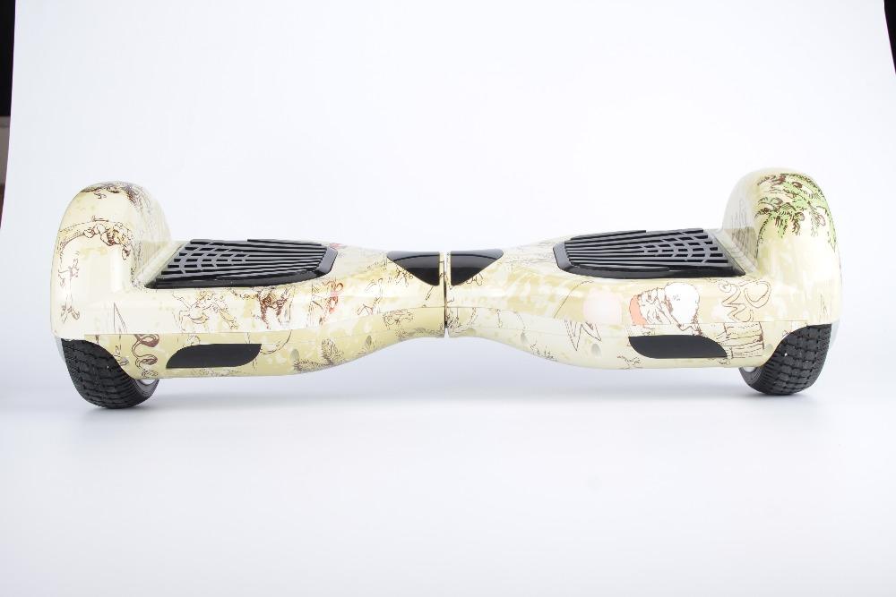 6.5 pulgadas Bluetooth auto equilibrio eléctrico de pie Hoverboard Scooter dos ruedas inteligente monopatín con samsung 18650(China (Mainland))