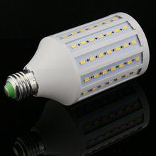 1pcs/lot Discount high light LED Corn Bulb E27 E26 E14 B22 SMD 5730/5630 102LED 30W AC165V-265V Warm/White led light lamp(China (Mainland))