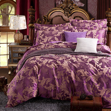 bedding set cotton jacquard luxury stain bed set  bed cover spring sheet 4pcs/set Queen king duvet set cover bed bedclothes(China (Mainland))
