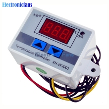 Buy Free 220V 10A Digital LED Temperature Controller XH-W3001 Arduino Cooling Heating Switch Thermostat + NTC Sensor for $4.62 in AliExpress store