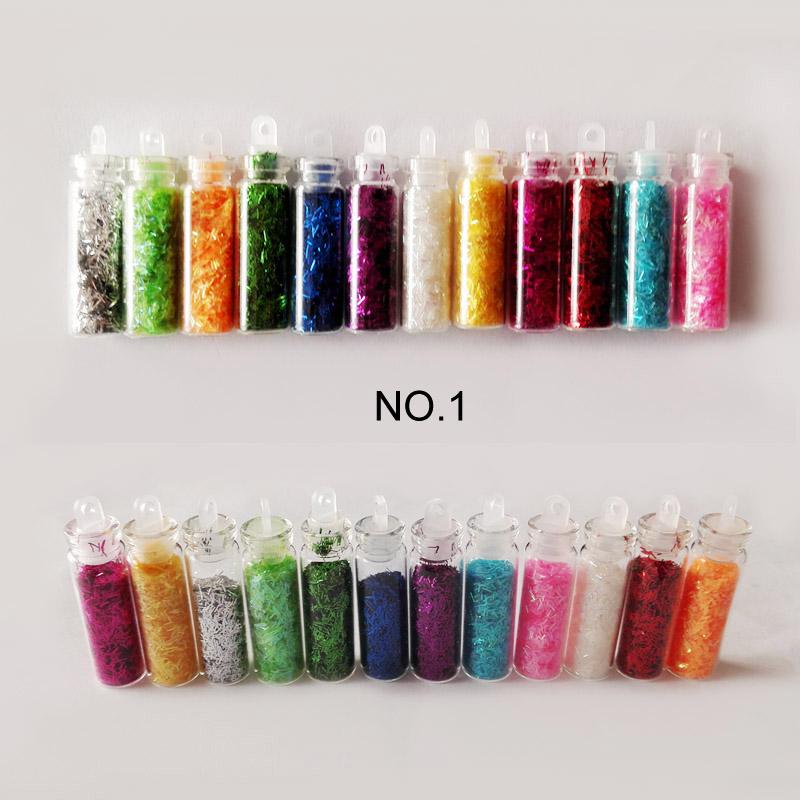 36G 12 Color Nail Glitter Polish Nagel Acrylic Powder Glitter Dust Nail Purpurina Nail Art Glitter Brillantini Unghie ZJ1122(China (Mainland))