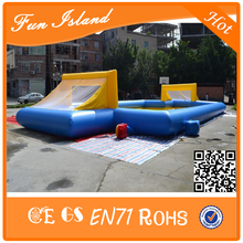 Big Outdoor Inflatable Soap Football Field/Soccer Football Field For Sale(China (Mainland))