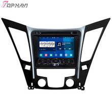 "Top Quad Core 7"" Android 4.4 Car GPS For 2011 Hyundai Sonata With Radio Audio BT Wifi Stereo DVD 16GB Flash Free Shipping"