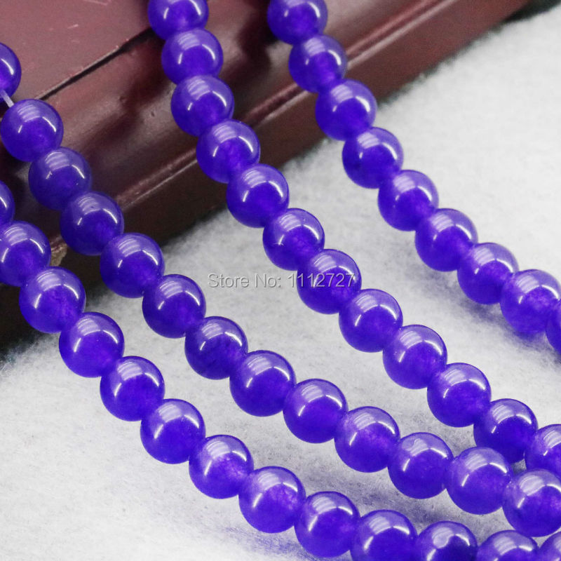 6mm Dark-Purple Clarity Jade Beads Round Jasper DIY Beads Stones 15inch Jewelry Making Design Wholesale For Women Girls Gifts(China (Mainland))