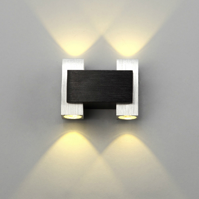 Led Decorative Wall Lamps : Decorative wall lamp 85 265V 4W led living room bedroom sconce light hotel bar corridor lamps ...