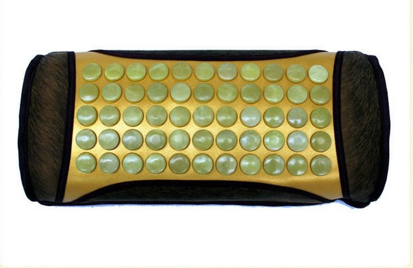 Heating care jade pillow ochre ms tomalin magnetic therapy health care pillow pillow topaz beans heating cervical pillow  Heating care jade pillow ochre ms tomalin magnetic therapy health care pillow pillow topaz beans heating cervical pillow