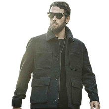 Mens Clothing Plus Size AK CLUB Brand 2016 New Men's Woolen Jacket Casual Wool Blend Roll-Nect Pockets Wool Men Coat 1541039(China (Mainland))