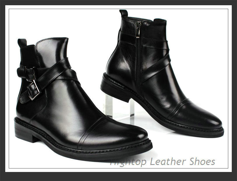 Мужские ботинки Spring/Autumn hightop 38/45 1 мужские ботинки spring autumn grimentin zip 38 45 b6 autumn boots
