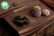 Premium Lao Cang Mini Tuo Cha Puer Tea Assortment 50 Pcs