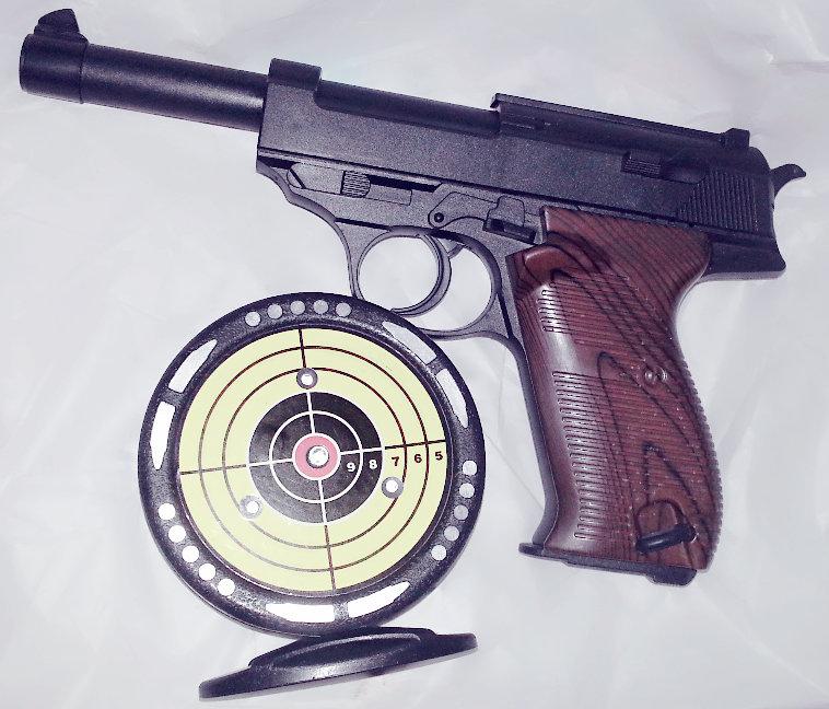 Kid's Laser Target Practice Gun Plastic Toy Pistol Infrared Sensor Laser Gun Light Music Shooting Target Competition Turntable(China (Mainland))