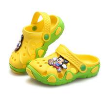 2016 Summer Girls Boys Beach Sandals Kids Children Shoes For Girls Boys Non-Slip Sandals Infant Kids Children Shoes Wholeas MBF2(China (Mainland))