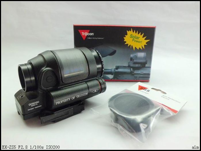 Holographic Sight Tactical Hunting Shooting Trijicon Solar Power 1x38 Sealed Reflex Sight SRS With QD Mount