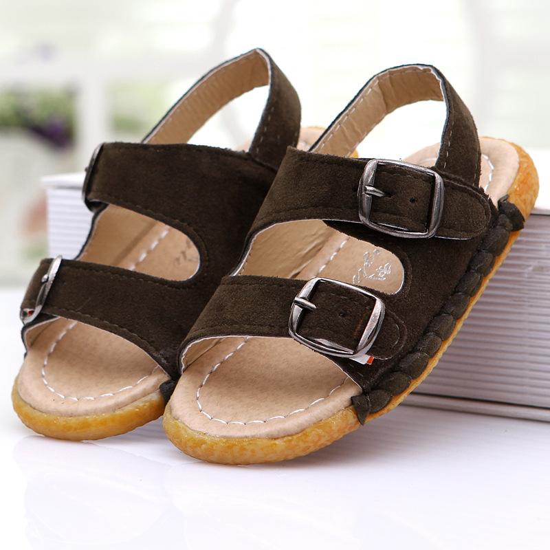 2015 mode f minine enfants sandales b b gar on sandales. Black Bedroom Furniture Sets. Home Design Ideas