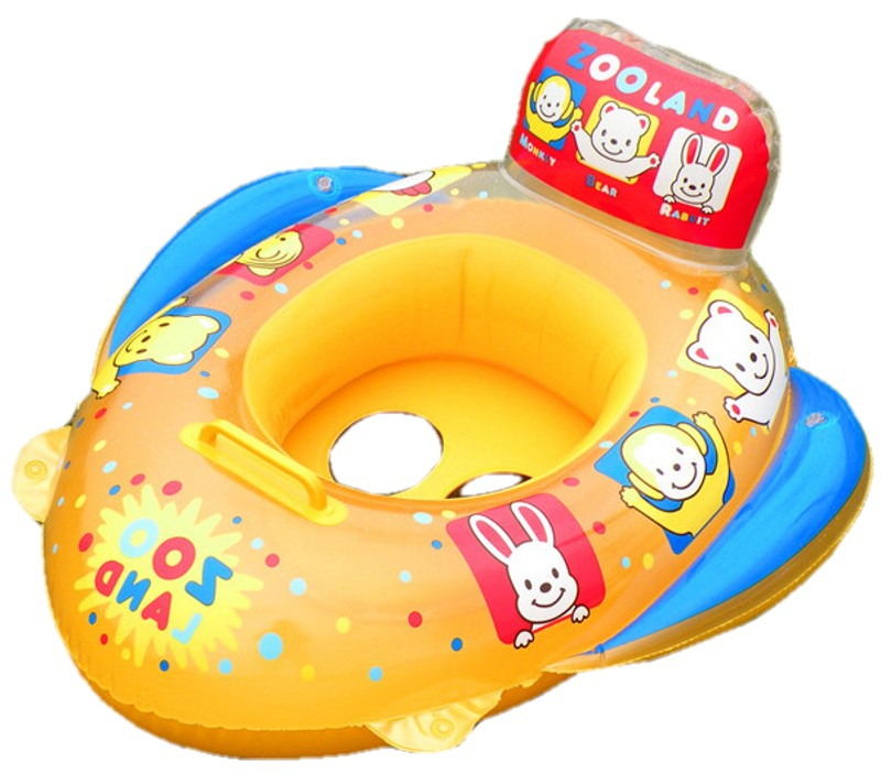 2016 Baby Pool Floats Kids Safety Swimming Pool Seat Toys Children Swim Circle New Arrival Baby Inflatable Boat(China (Mainland))
