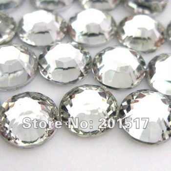 Crystal #29 ss20 5mm Resin Rhinestone Flatback Clear High Quality And Very Shine Round Shape Beads Diy Factory Direct