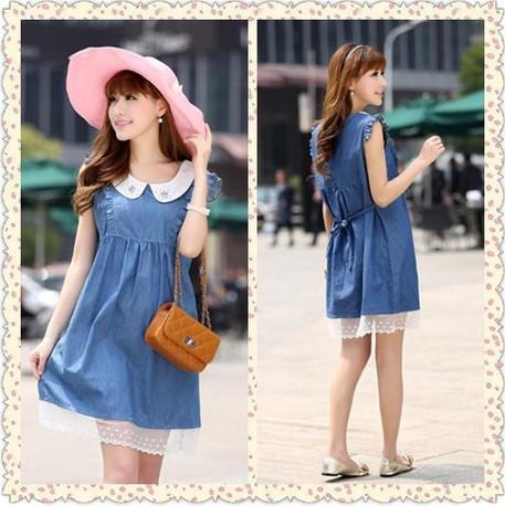 Elegant Short Sleeve Dresses 4Xl A Line Dress Plus Size Solid Mini Cloth Peter Pan Collar Dress Summer Women China Cheap Sale<br><br>Aliexpress