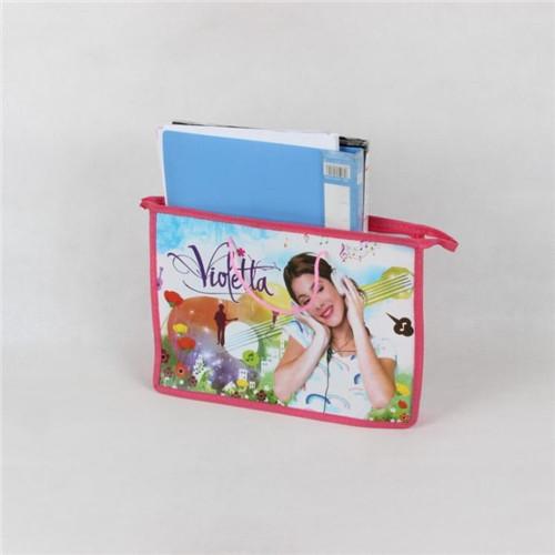 2014 Free shipping Violetta sofia kitty minni Dora PP quality Cartoon office bag Cartoon Drawstring School bag ,(China (Mainland))