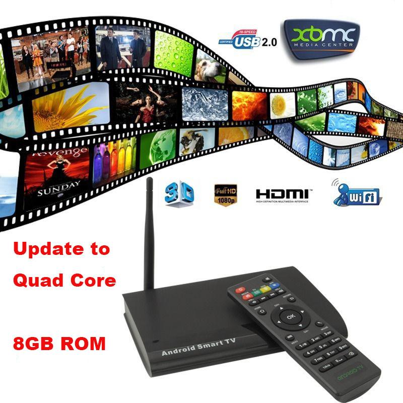 756 Quad Core RK3128 Android 4.4 KODI 14.0 XBMC Version 1080P Full HD Media Player HDMI WIFI Smart TV Box(China (Mainland))